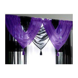 Purple And Black Curtains Purple Curtains Curtains Black Curtains