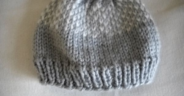 Knitting Patterns For Hats Pinterest : Knitted baby hat patterns pinterest crafts
