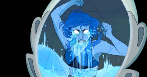 katietheslayer: Another commission, this time of Lapis ...