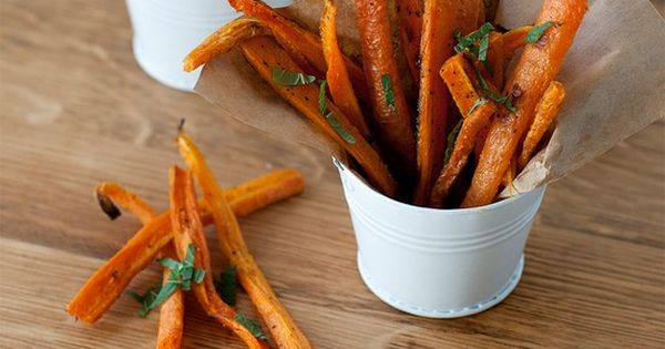 Carrot Fries: these look FUN!!!! Let's all give them a try and