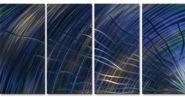Cool Advance Iii Large Abstract Metal Wall Art By Artist Ash Carl Contemporary Home Decor Abstract Metal Wall