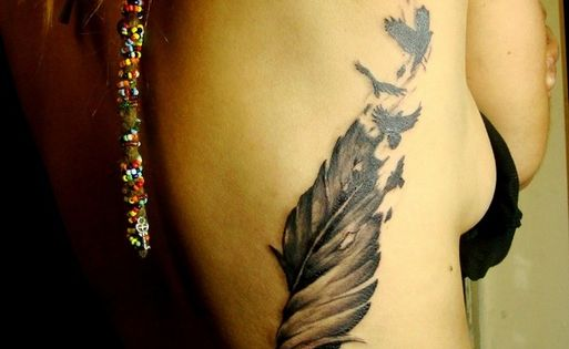 Feather Tattoo FeatherTattoo http://tattoo-ideas.us
