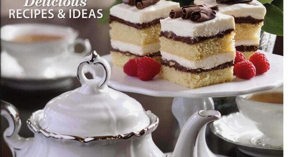 ... on Teas, tea cakes, breads, cookies and sandwiches | Pinterest