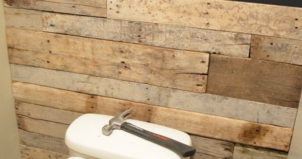bathroom re-do, pallet / wood wall, chalkboard wall, accent wall