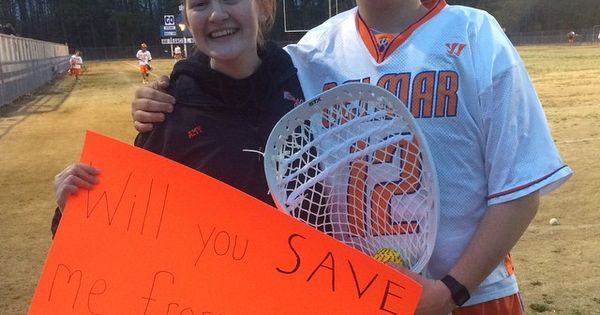 Quot Will You Save Me From Going To Prom Alone Quot Lacrosse