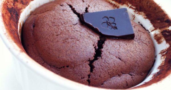 Chocolate souffle, Paleo chocolate and Paleo on Pinterest
