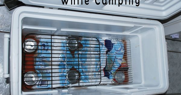 Camping Tips: HOW TO KEEP YOUR FOOD DRY IN A COOLER WHILE CAMPING - from Vone Inspired