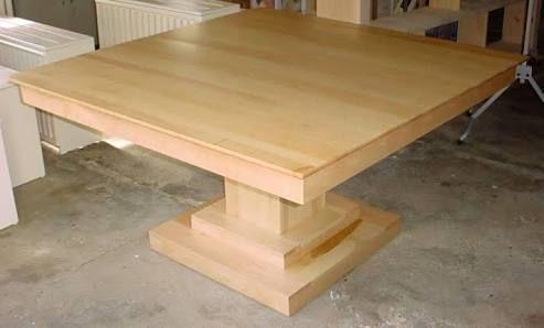 Image Result For Diy Wood Square Pedestal Table Pedestal Table Base Pedestal Table Diy Pedestal Table