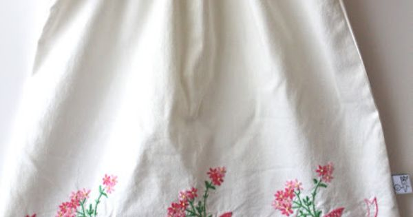 Smashed Peas and Carrots: Easter 2012 Vintage Pillowcase Dress