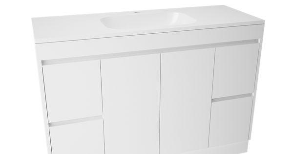 Bunnings Bathroom Vanity Lights : USD 641 @ Bunnings Marbletrend 1200x455mm Flinders Vanity Unit 1TH I/N 4844047 Bunnings ...
