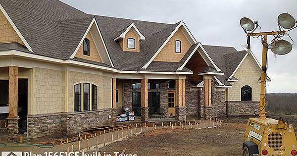 Plan 15651ge award winning gable roof masterpiece for Award winning craftsman home designs