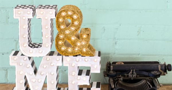 Heidi Swapp Marquee Love 174 Letter Kit Heidi Swapp Craft