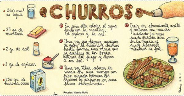 Como Poner Subtitulos A Popcorn Time Una De Mis Debilidades Confesables Churros Desserts Mexican Food Recipes