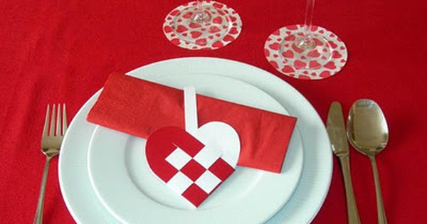 Decoracion de mesas ideas para san valentin valentin for Decoracion san valentin pinterest