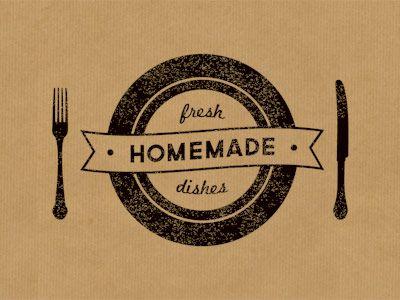 Fresh Homemade Dishes Catering Logo Restaurant Logo Design Homemade Dishes
