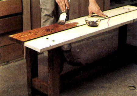 Comment fabriquer un banc comment - Fabriquer un meuble a chaussure en bois ...