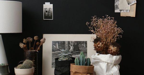 Uashmama washable paper bag brown taschen papier und for Dinge im wohnzimmer 94