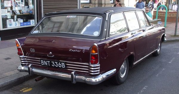1964 Ford Zephyr 6 Estate Station Wagon Ford Classic Cars Cars