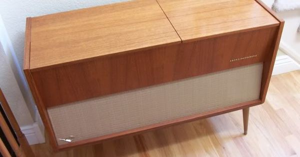 Packard Bell Space Age Console Stereo