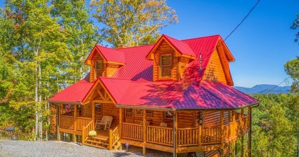 Panorama Luxury Plus 2 Bedroom Pigeon Forge Cabin Rental Cabin Rentals Nashville Vacation Cabin