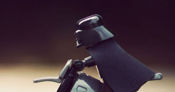 Lego Rider. Star Wars Darth Vader Wallpapers