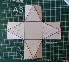 Anleitungen Geschenke Verpackungen Karten Basteln Boxen Schachteln Vorlagen Tutorials Workshops Schokolade Scho Card Tutorial Box Patterns Paper Box