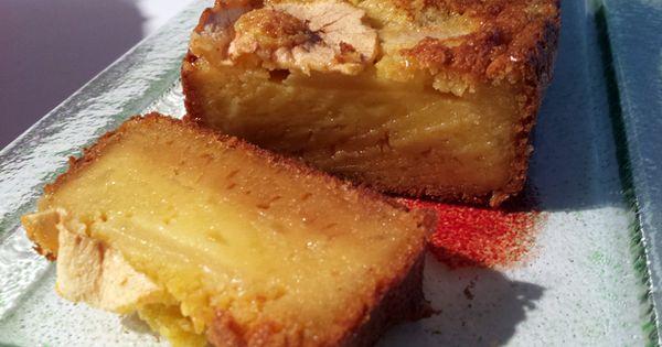 Cake Aux Pommes Et Beurre Sal Les D Lices De Thermomix Recettes Thermomix Pinterest