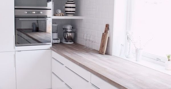 White Modern Kitchen Cabinets Hidden Open Corner Storage