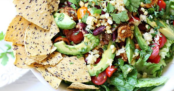 veggie taco salad recipe