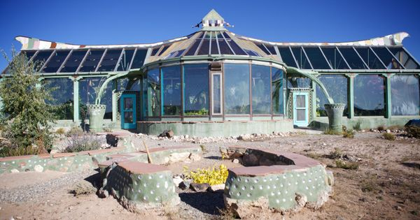 Phoenix House At The Earthship Biotecture Community In