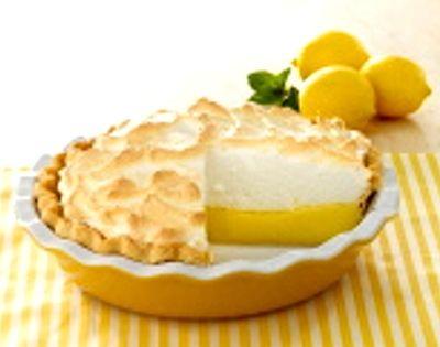 Recipe Mile High Lemon Meringue Pie Argo Cornstarch Box