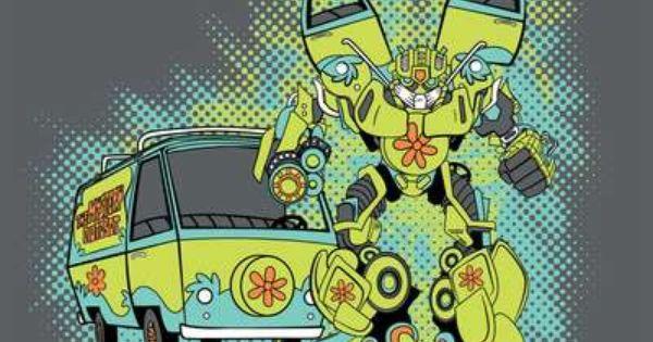 Mystery Machine Transformers