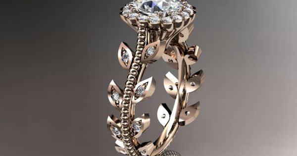 #anjaysdesigns.com ring Spring Collection, Unique Diamond Engagement Rings,Engagement Sets,Birthstone Rings rose gold