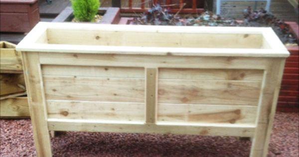 Diy Rectangular Planter Box Planter Box Plans 400 x 300