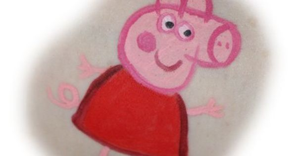 Peppa pig Simple designs face