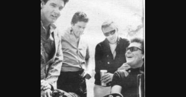 Elvis and max baer jr jethro bodine from the beverly hillbillies tcb pinterest the o for Beverly hillbillies swimming pool