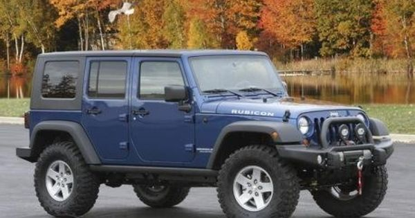 2010 Jeep Wrangler Family Friendly Off Road Edition By Mopar