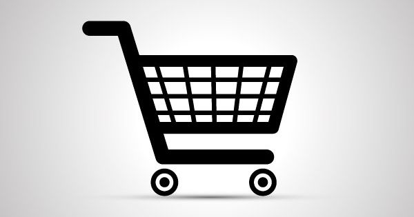 Black Shopping Cart Icon With Shadow Cart Icon Shopping Cart Logo Cart Logo