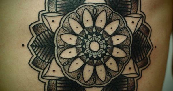 Mandala Traditional Tattoo