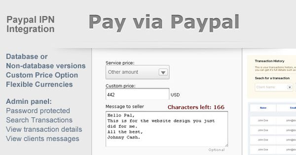 Charming Paypal Payment Form With Admin Panel UPDATED 8 March Web   Debit Order Form