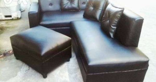 Black Leather L Shape Sofa Set For Sale Philippines Find Brand New Black Leather L Shape Sofa Set On Olx Leather Sofa Set Sofa Set Price Cheap Leather Sofas