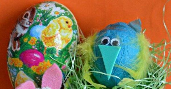Simple Easter craft Ideas for Kids