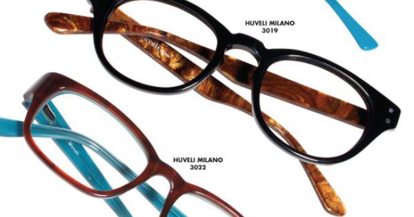 Teka Eyewear introduces Huveli Milano, a petite/youth ...