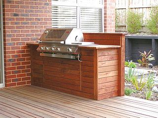 Built In Gas Barbecue Brick Google Search Outdoor Kitchen Outdoor Bbq Area Built In Bbq