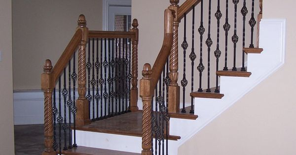 Best Stair Spindles Iron Stairs Wrought Iron Stair Spindles 400 x 300