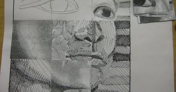 Artwork Using Lines : Beg drawing modified grid could do this using