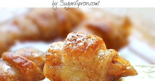 Don't be fooled by the ingredients. The Crescent rolls stuffed with apple,