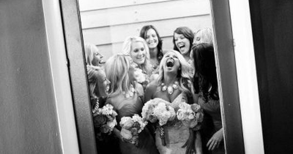 Heading to the wedding! Love this elevator picture of all the girls!!!