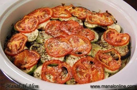 صينية الخضروات مطبخ منال العالم Egyptian Food Vegetable Recipes Recipes