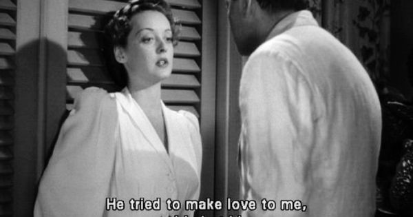 With All My Heart I Still Love The Man I Killed Bette Davis In